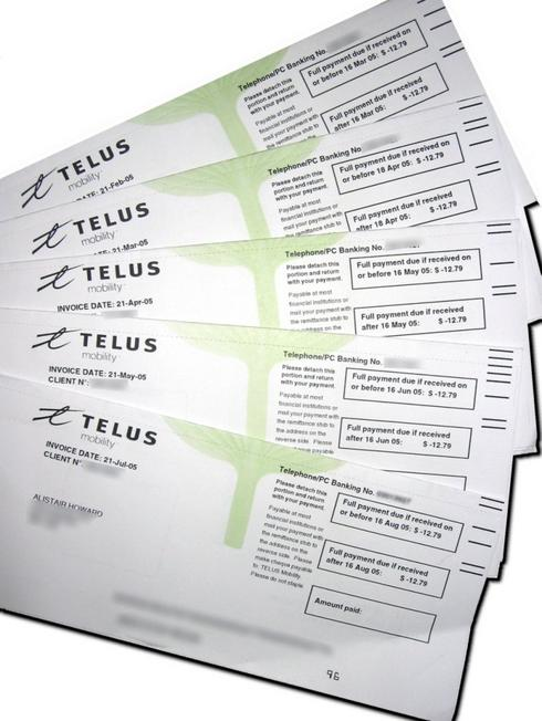 how to pay telus bill